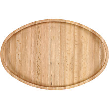 Buy Oakwood Oval Tray Online at johnlewis.com
