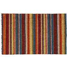 Buy John Lewis Multistripe Mat, L75 x W50cm Online at johnlewis.com