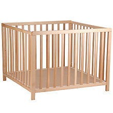 Buy Baby Dan Baby Playpen, Beech Online at johnlewis.com
