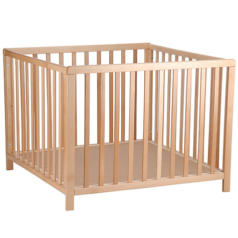 Buy BabyDan Baby Playpen, Beech Online at johnlewis.com