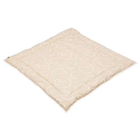 Buy BabyDan Playmat, Beige Hearts Online at johnlewis.com