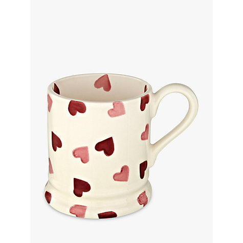 Buy Emma Bridgewater Pink Hearts, Mug, 0.3L Online at johnlewis.com