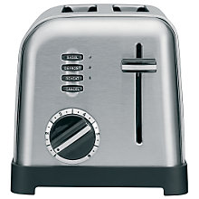 Buy John Lewis CPT160U Toaster, 2-Slice, Brushed Stainless Steel Online at johnlewis.com