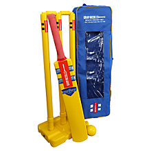 Buy Gray-Nicolls Bat, Wicket & Ball Beach Cricket Set Online at johnlewis.com