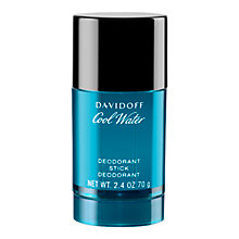 Buy Davidoff Cool Water Deodorant Stick, 70g Online at johnlewis.com