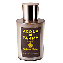 Buy Acqua di Parma Collezione Barbiere, Aftershave Balm Online at johnlewis.com