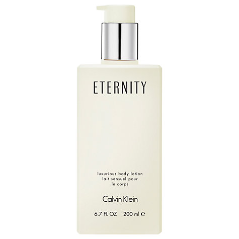 Buy Calvin Klein Eternity for Women Body Lotion, 200ml Online at johnlewis.com