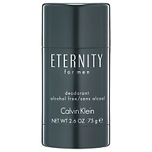 Buy Calvin Klein Eternity for Men Deodorant Stick, 75g Online at johnlewis.com