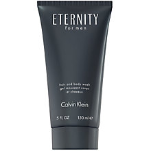 Buy Calvin Klein Eternity for Men Hair and Body Wash, 200ml Online at johnlewis.com