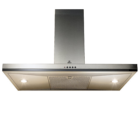 Buy Elica Concept Cube 90 Chimney Cooker Hood, Stainless Steel Online at johnlewis.com