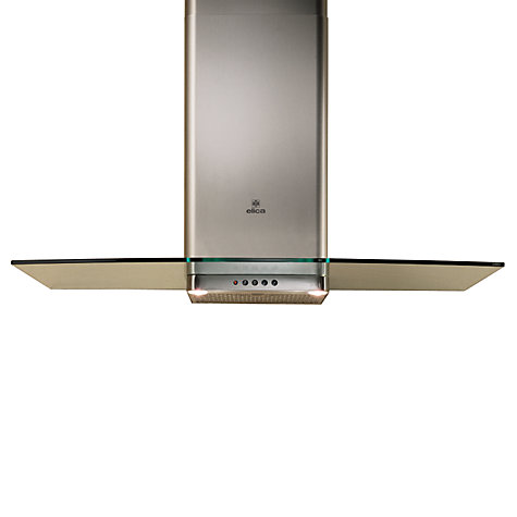 Buy Elica Concept Glacier 90 Chimney Cooker Hood, Stainless Steel Online at johnlewis.com