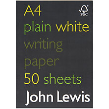 Buy John Lewis A4 FSC Notebook Online at johnlewis.com