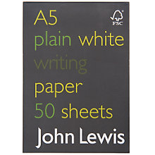 Buy John Lewis A5 FSC Notebook Online at johnlewis.com