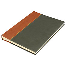 Buy John Lewis Photograph Album, Green / Tan Online at johnlewis.com