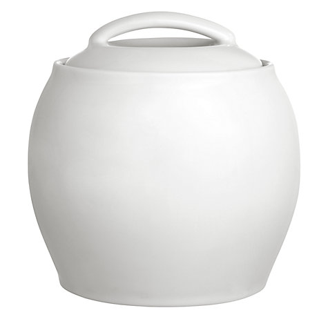 Buy Denby White Covered Sugar Bowl Online at johnlewis.com