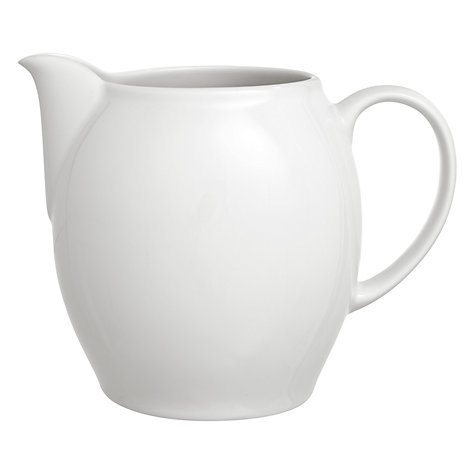 Buy Denby White Small Jug, 0.4L Online at johnlewis.com