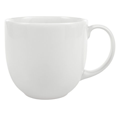 Buy Denby White Mug, 0.35L Online at johnlewis.com