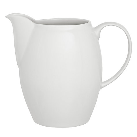 Buy Denby White Large Jug, 0.8L Online at johnlewis.com