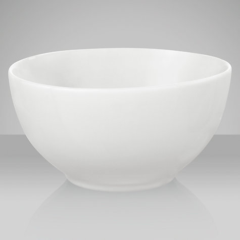 Buy Denby White Serve Rice Bowl, Dia.12cm Online at johnlewis.com