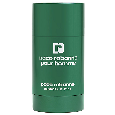 Buy Paco Rabanne Homme Deodorant Stick, 75g Online at johnlewis.com