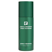 Buy Paco Rabanne Pour Homme Deodorant Spray, 150ml Online at johnlewis.com