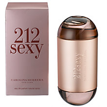 Buy Carolina Herrera 212 Sexy Eau de Parfum Online at johnlewis.com