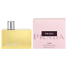 Buy Prada Amber Bath and Shower Gel, 200ml Online at johnlewis.com