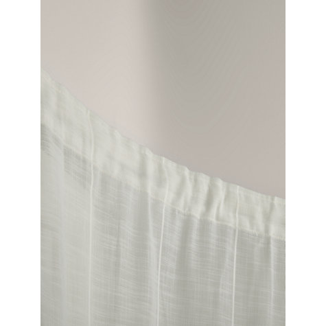 Buy John Lewis PVC Uncorded Curtain Tracks, up to L200cm Online at johnlewis.com