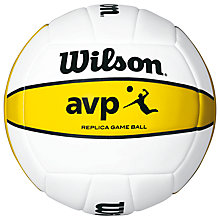 Buy Wilson AVP Replica Volleyball Online at johnlewis.com