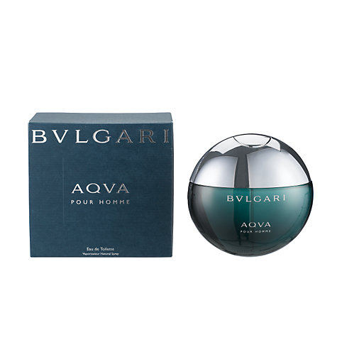 Buy Bulgari Aqua Pour Homme, Eau de Toilette Spray Online at johnlewis.com