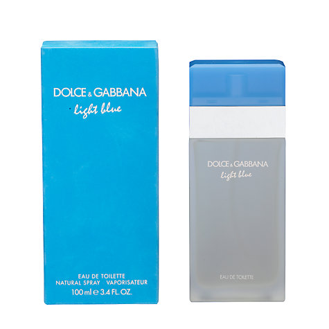 Buy Dolce & Gabbana Light Blue Eau de Toilette for Women Online at johnlewis.com