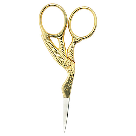 Buy John Lewis Stork Embroidery Scissors Online at johnlewis.com