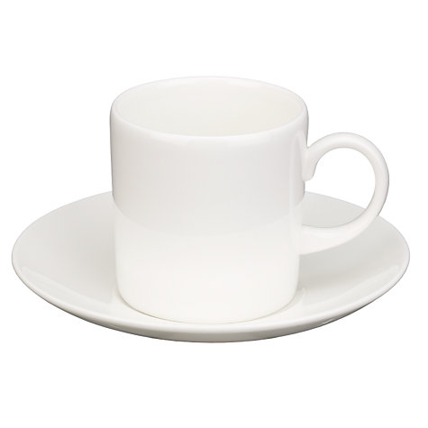 Buy Wedgwood White China Espresso Cup, 0.15L, White Online at johnlewis.com