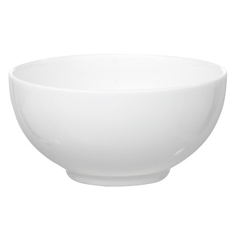 Buy Wedgwood White China Cereal Bowl, Dia.16cm Online at johnlewis.com