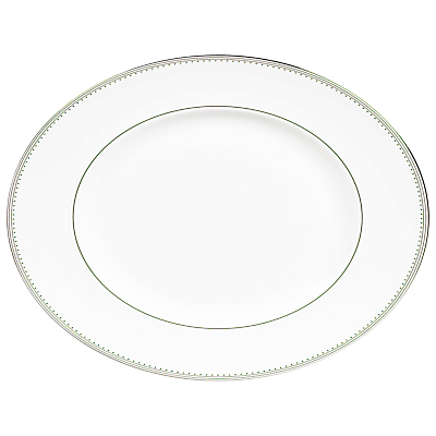 Wedgwood Vera Wang Grosgrain Oval Dish, 35cm