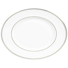 Buy Wedgwood Vera Wang Grosgrain Oval Dish, 35cm Online at johnlewis.com