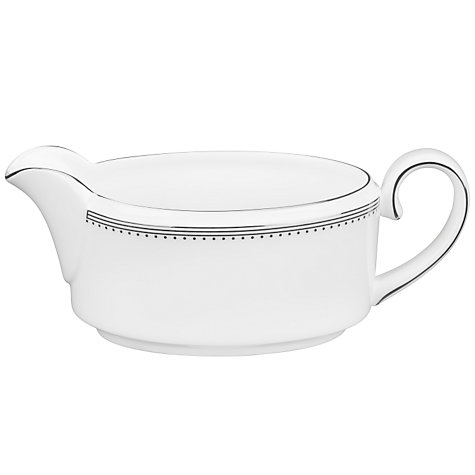 Buy Vera Wang for Wedgwood Grosgrain Sauce Boat, 0.35L Online at johnlewis.com