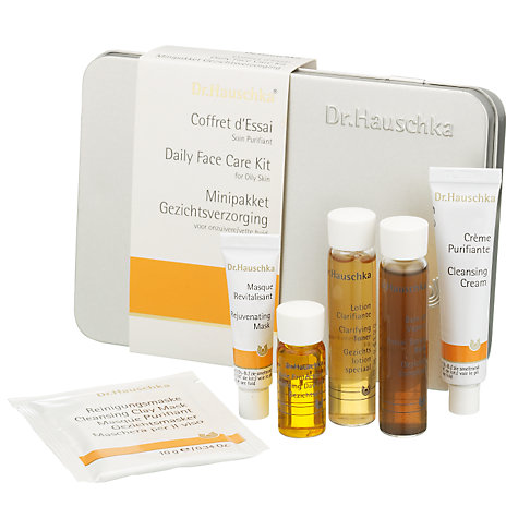 Buy Dr Hauschka Daily Face Care Kit, Oily Skin Online at johnlewis.com