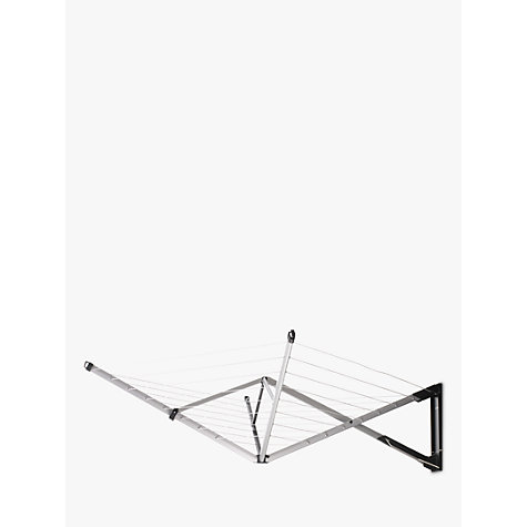 Buy Brabantia WallFix Wall Mounted Clothes Dryer, Silver Online at johnlewis.com