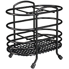 Buy John Lewis Cutlery Basket, Black Online at johnlewis.com