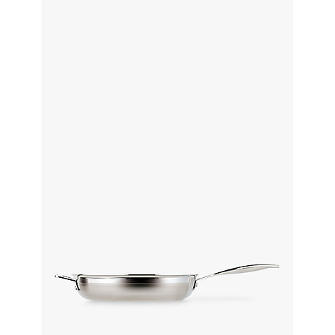 Buy Le Creuset 3-Ply Stainless Steel Frypan, 28cm Online at johnlewis.com