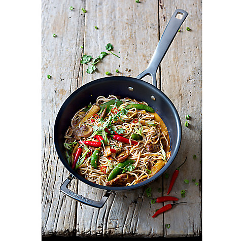 Buy Le Creuset 3-Ply Stainless Steel Non-Stick Frypan, 28cm Online at johnlewis.com