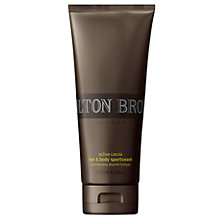 Buy Molton Brown Cassia Energy Sport Hair and Body Wash, 200ml Online at johnlewis.com