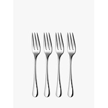 Buy Robert Welch Radford Bright Pastry Forks, Set of 4 Online at johnlewis.com