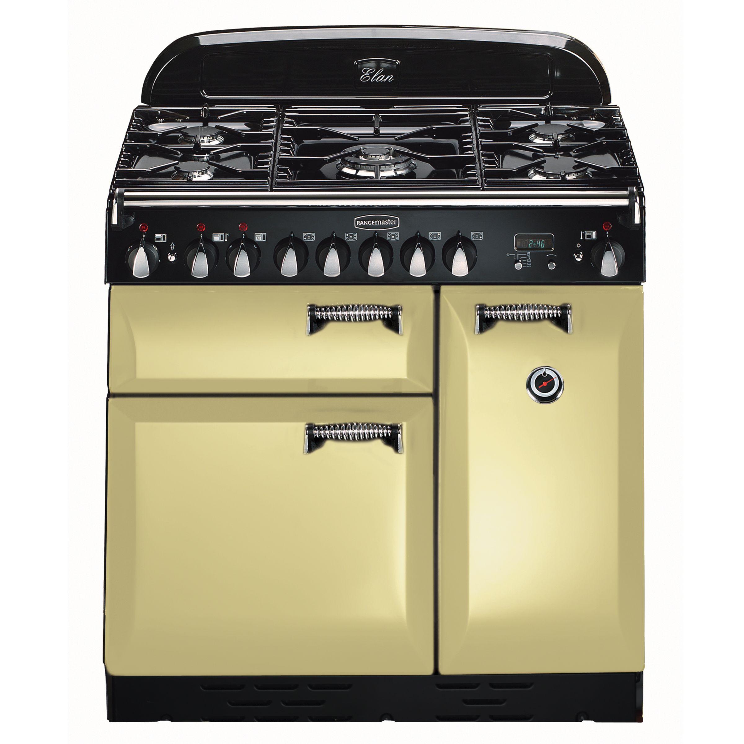 buy cheap rangemaster elan 90 dual fuel range cooker. Black Bedroom Furniture Sets. Home Design Ideas