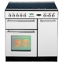 Buy Rangemaster Toledo 90 Electric Range Cooker, Stainless Steel Online at johnlewis.com