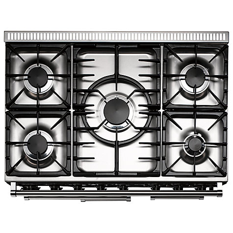 Buy Falcon 900 Deluxe Dual Fuel Range Cooker, Stainless Steel Online at johnlewis.com