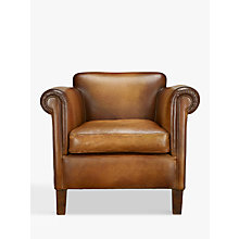 Buy John Lewis Camford Leather Armchair, Buffalo Antique Online at johnlewis.com