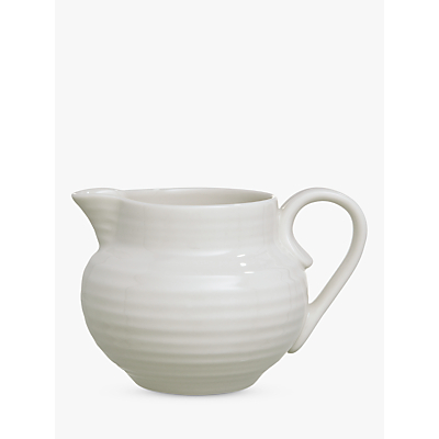 Image of Sophie Conran for Portmeirion Cream Jug, White, 0.28L