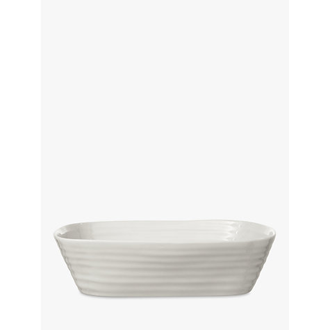 Buy Sophie Conran for Portmeirion Rectangular Dish, White, 29cm Online at johnlewis.com